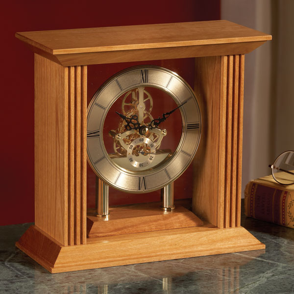 Mantel Clock Plans