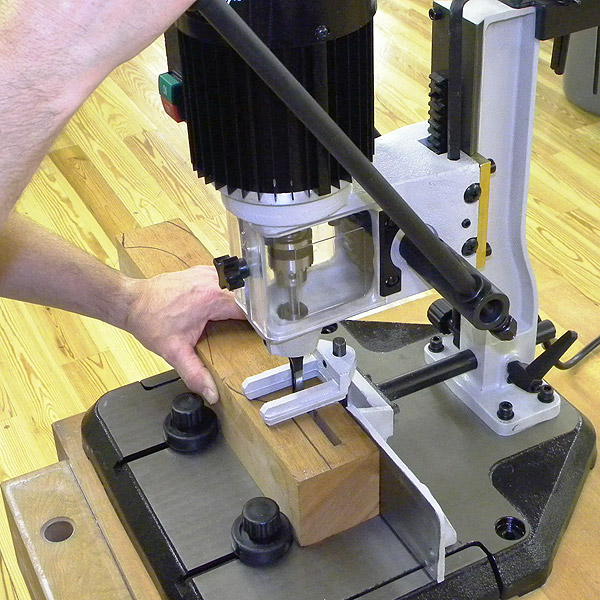 ... for HOME Page: WoodRiver Benchtop Mortiser with FREE Chisels and Bits