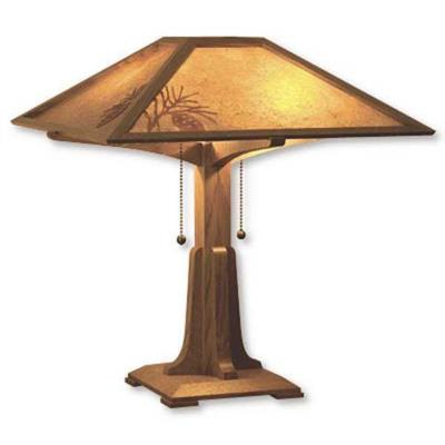 Arts and Crafts Table Lamp - Downloadable Plan
