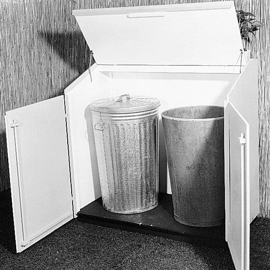 KITCHEN GARBAGE CAN WOODWORKING PLANS AND INFORMATION AT