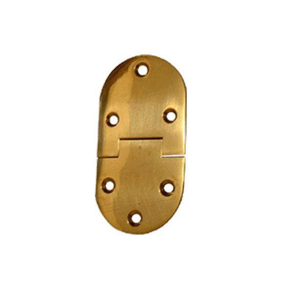 Bright Brass Butler Tray Hinges (2.