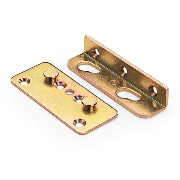 woodriver bed rail bracket set 2