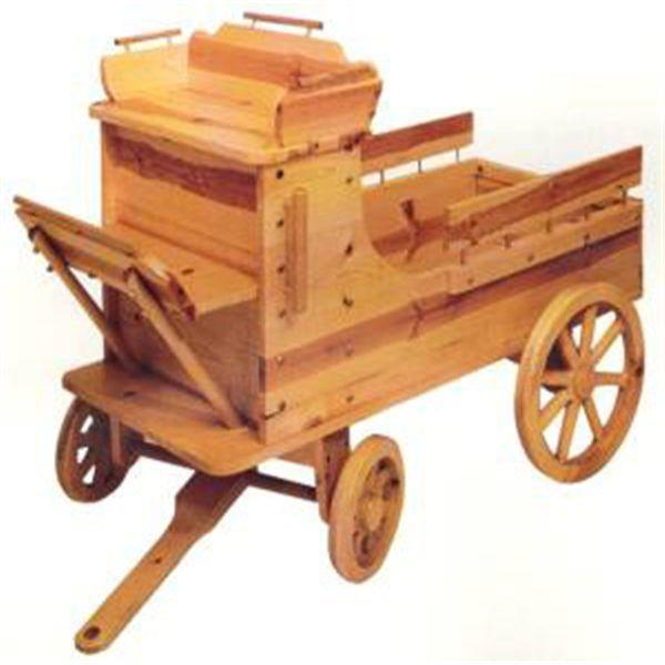 ... Woodworking Project Paper Plan to Build Toy Box Wagon at Woodcraft.com