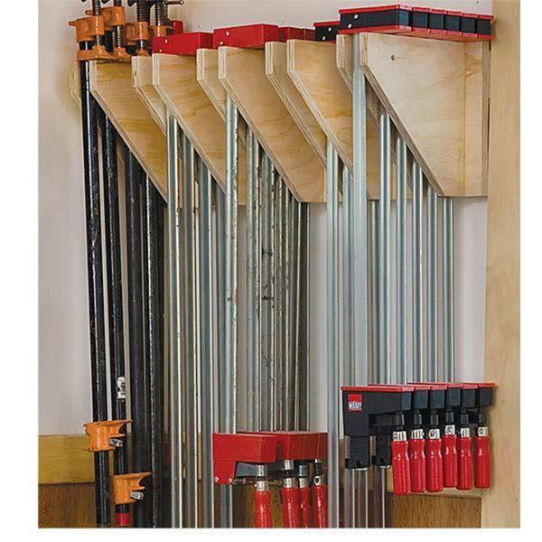 Plan Rack Clamps