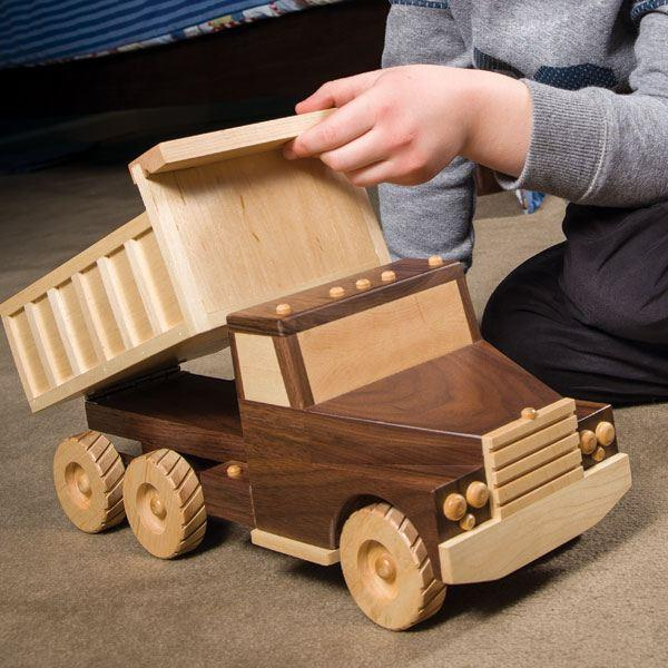 Free Woodworking Plans Toy Trucks | Beginner Woodworking Project