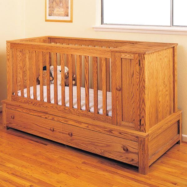 Free babe furniture baby crib plans plans to build.
