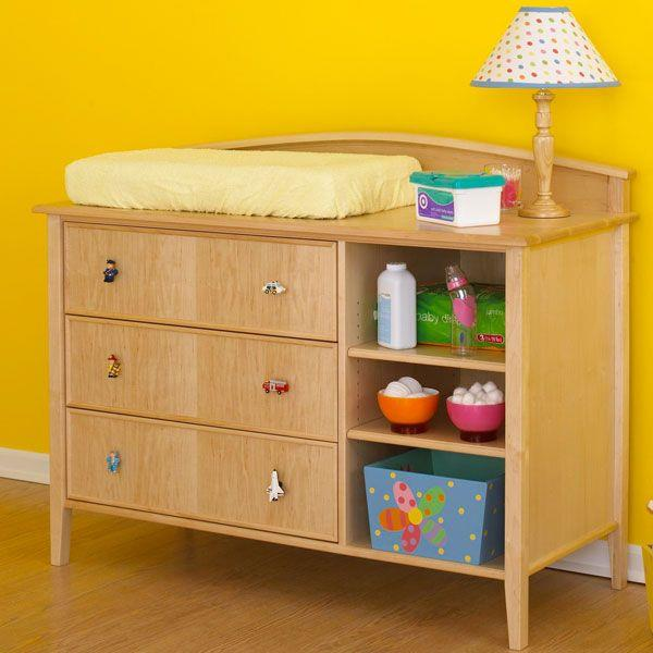 Plans For Dresser Changing Table