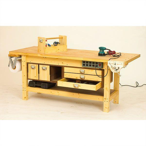 Permalink to plans to build a woodworking bench