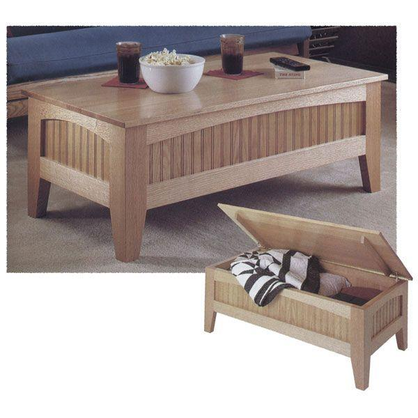 futon coffee table woodworking plans – woodguides