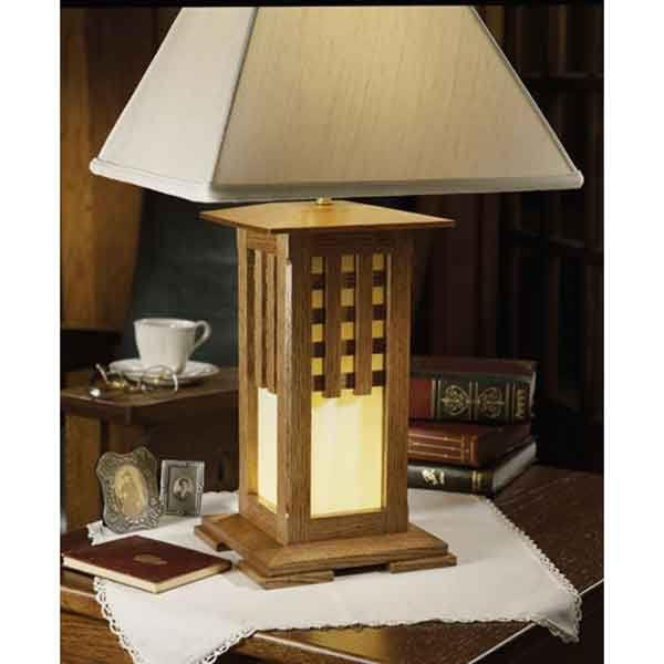 plans for wood lamp