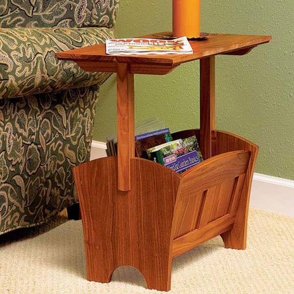 Magazine Rack Table Plans