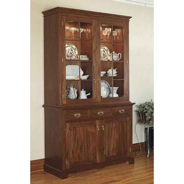 China Hutch Cabinet Plans
