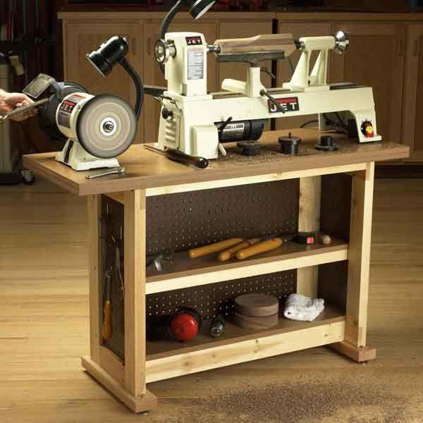 mini lathe bench plans