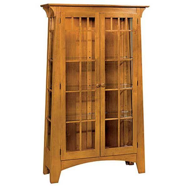Woodworking curio display cabinet plans PDF Free Download