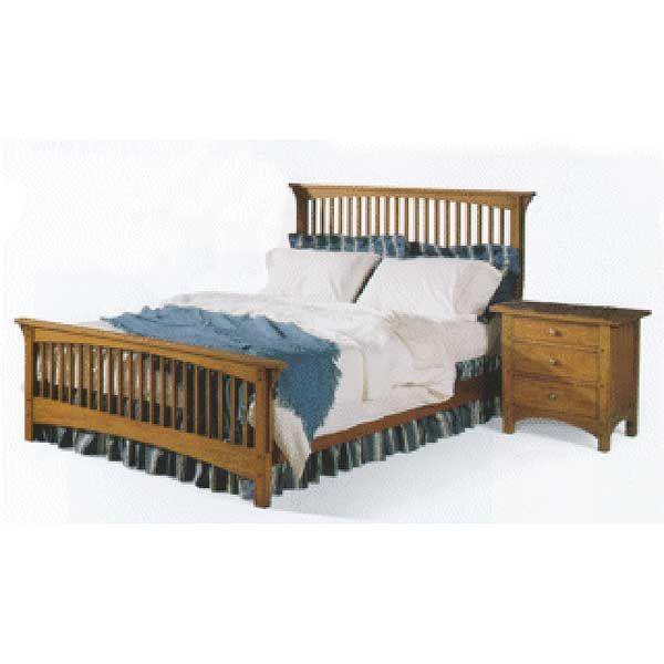 Mission Style Queen Bed Plans