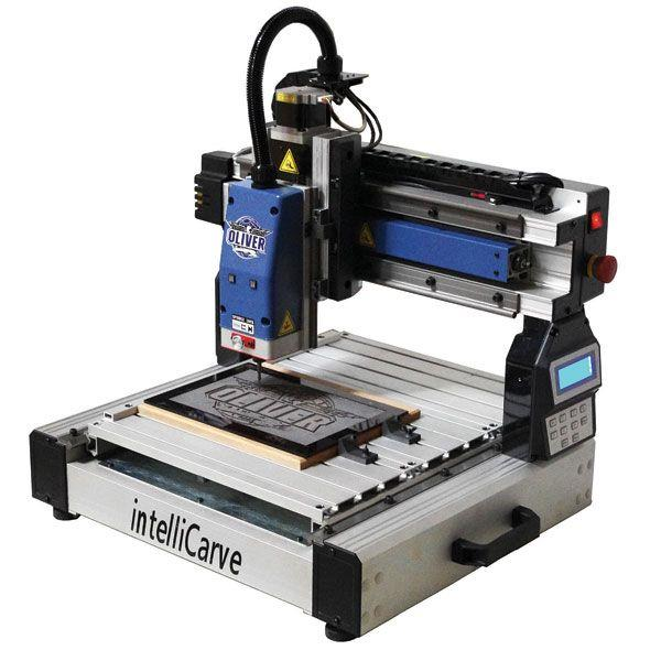 "... Tools > CNC Machines > Oliver 13"" intelliCarve CNC Carving Machine"