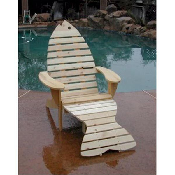 fish adirondack chairs