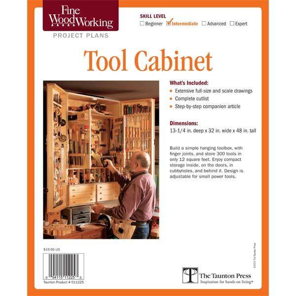 Woodworking Tool Cabinet Plans Free