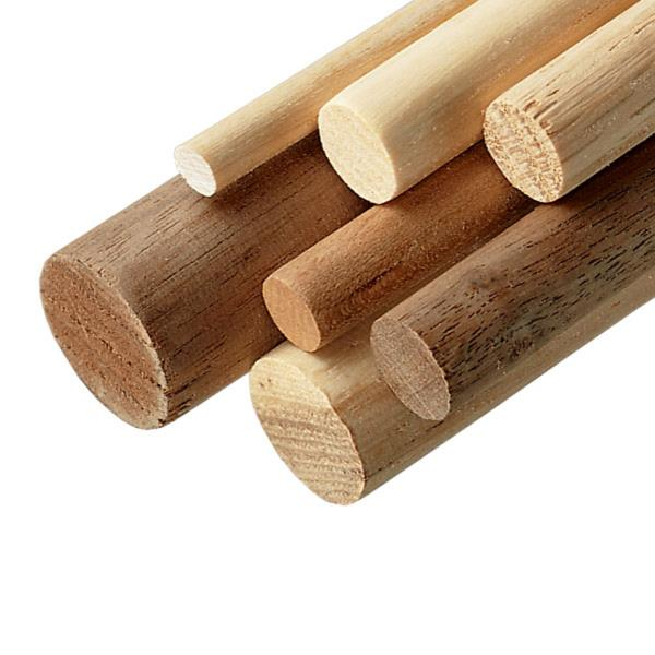round wooden dowels