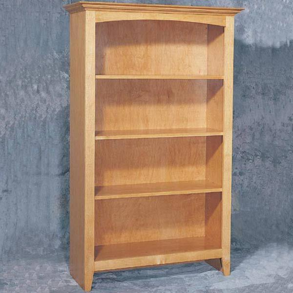 bookshelf woodworking plans