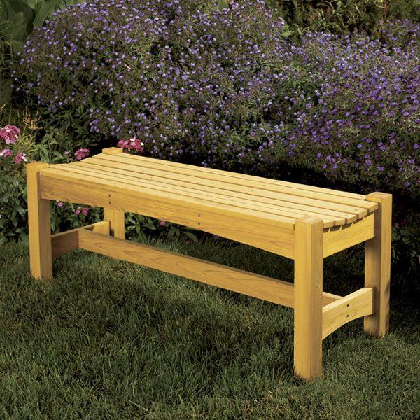 Woodwork Outdoor Patio Bench Plans PDF Plans