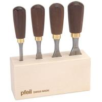 pfeil Swiss made  Butt Chisel Set of Four