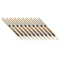 10-Pack Slim Style Cobalt Gold Solid Clip Ballpoint Pen Kits