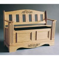 Woodworking Project Paper Plan to Build Blanket Chest/Bench Plan Plan