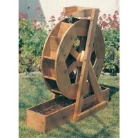 Woodworking Project Paper Plan to Build Water Wheel Plan No. 891