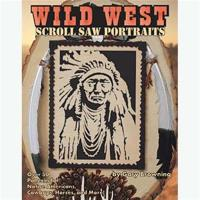 Wild West Scroll Saw Portraits Over 50 Patterns for Native Americans C