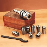 WoodRiver Turners Collet Chuck Set 2 MT