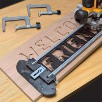 MILESCRAFT TurnLock SignCrafter Sign Making Jig