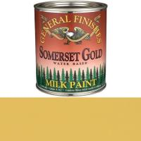 General Finishes Somerset Gold Milk Paint Quart