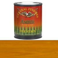 General Finishes Water Based Dye Amber Pint