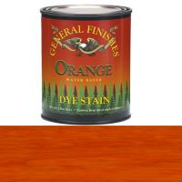 General Finishes Water Based Dye Orange Pint