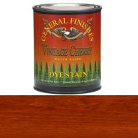 General Finishes Water Based Dye Vintage Cherry Pint