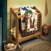 Heirloom Quilt Stand - Downloadable Plan