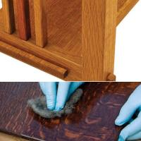The Much Heralded Mortise and Tenon and The Mission Finish Two Step Bu
