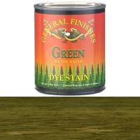 General Finishes General Finishes Water Based Dye Green Pint