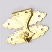 Stanley Solid Brass Miniature Decorative Catch w/pins 2 pack