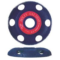Holey Galahad See Through Disc Round Coarse Blue 7/8