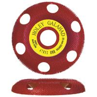 Holey Galahad See Through Disc Round Medium Red 7/8