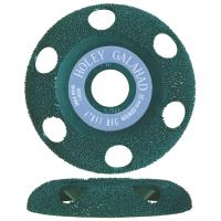 Holey Galahad See Through Disc Round Fine Green 7/8
