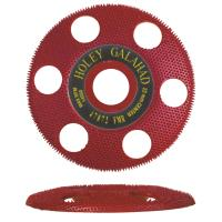 Holey Galahad See Through Disc Flat Medium Red 7/8
