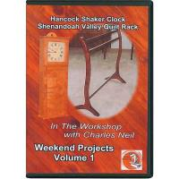 In The Workshop With Charles Neil Weekend Projects Vol. 1 DVD