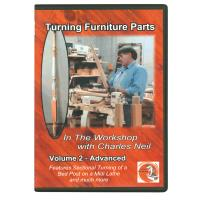 In The Workshop With Charles Neil Turning Furniture Parts DVD Vol. 2