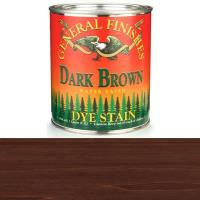 General Finishes Water Based Dye Dark Brown Quart