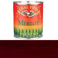 General Finishes Water Based Dye Merlot Quart
