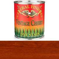 General Finishes Water Based Dye Vintage Cherry Quart