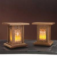 Arts and Crafts Luminaries - Downloadable Plan